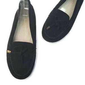 MICHAEL Michael Kors Black Sutton Moccasin Loafer